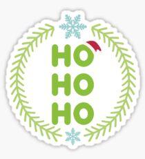 Santa - HO-HO-HO Sticker
