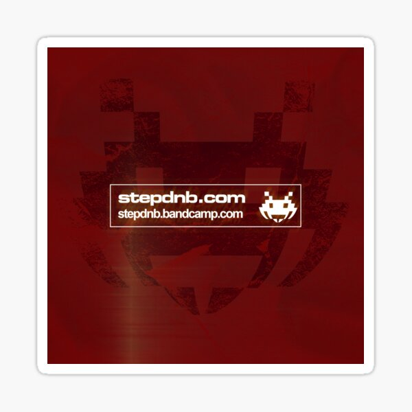 Step Drum and Bass Bandcamp 002 Sticker
