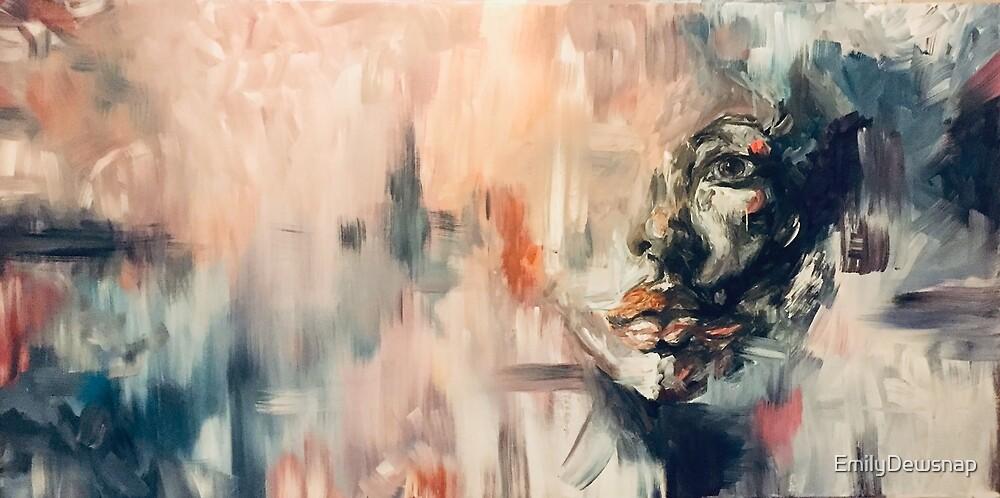 Hidden Face Abstract by EmilyDewsnap