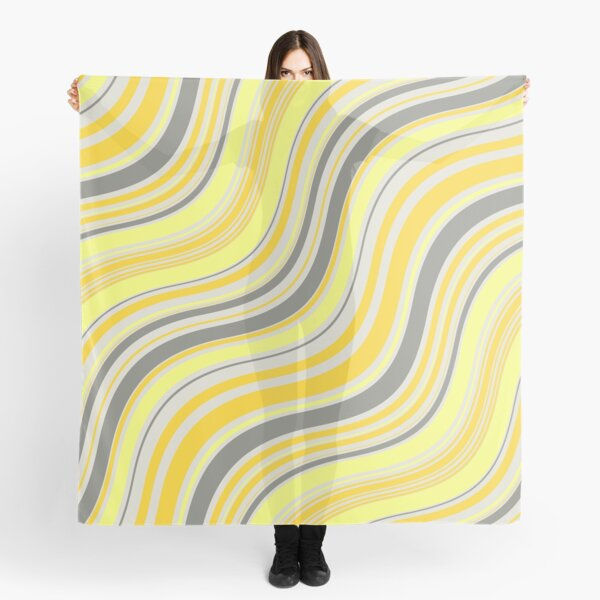 yellow waves Scarf