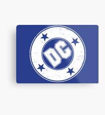 DC COMICS - VINTAGE WHITE Metal Print