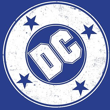 DC COMICS - VINTAGE WHITE by BlazeComics