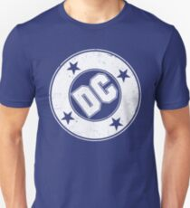 DC COMICS - VINTAGE WHITE Unisex T-Shirt