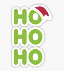 Ho-Ho-Ho Santa Sticker