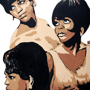 Diana Ross & the Supremes by absurdboy