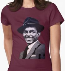 Frank Sinatra Women's Fitted T-Shirt