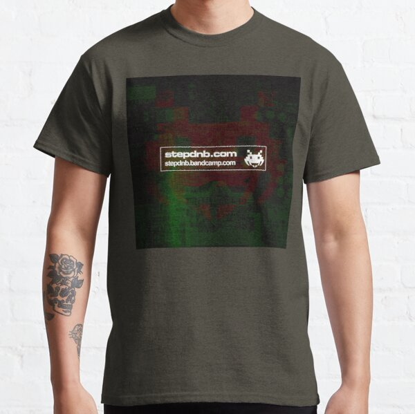 Step Drum and Bass Bandcamp 001 Classic T-Shirt