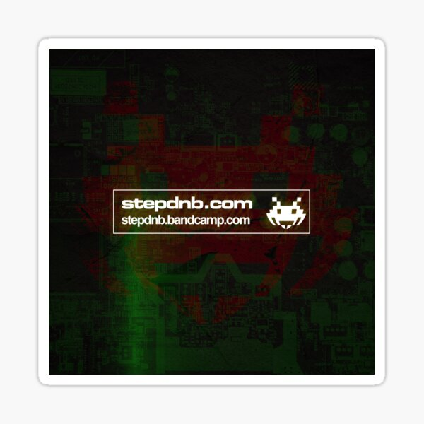 Step Drum and Bass Bandcamp 001 Sticker