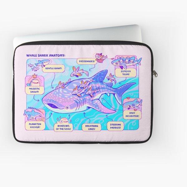 Whale Shark Anatomy Laptop Sleeve