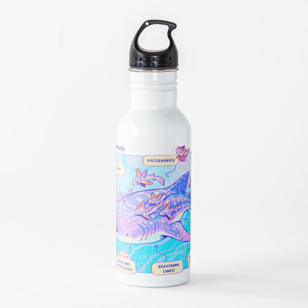 Whale Shark Anatomy Water Bottle