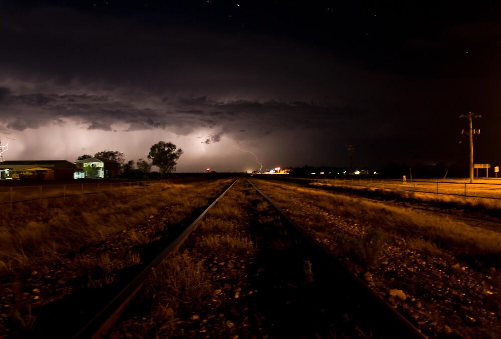 Longreach Lightshow * Longreach Queensland by Deon Mackay