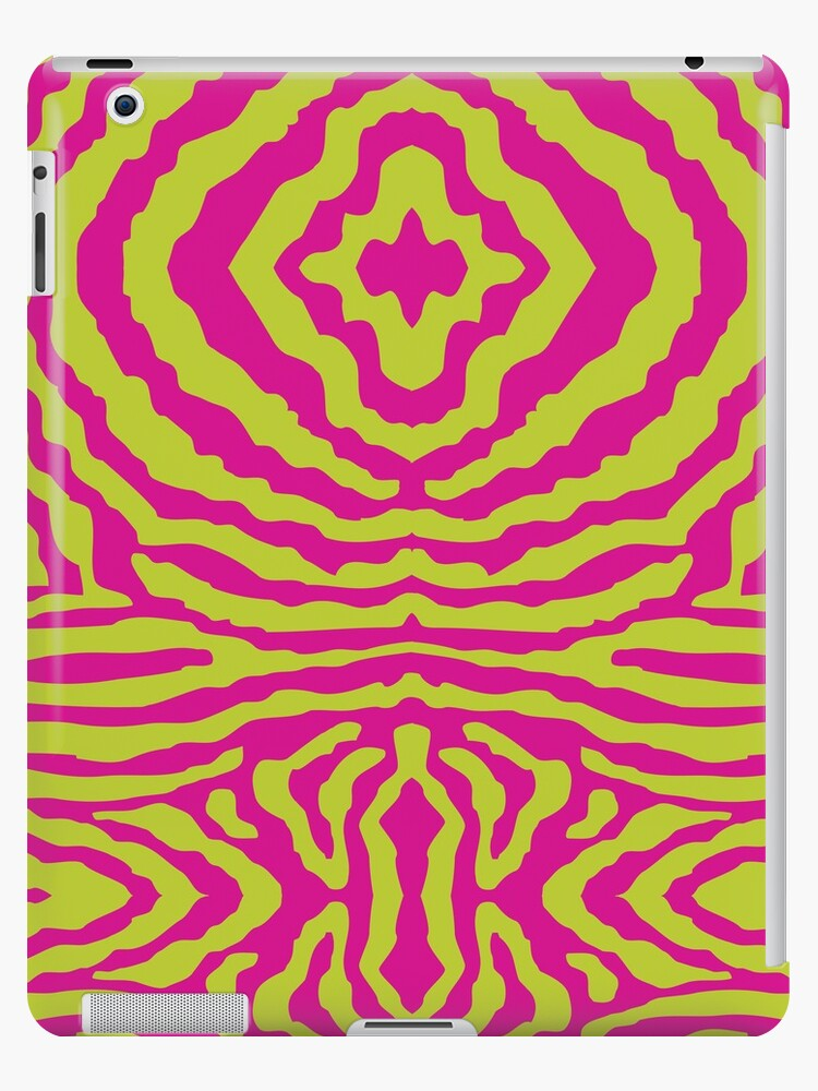 funky zebra pattern 1 by Kat Massard