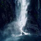 Bowen Falls, New Zealand 3 by Karin Elizabeth