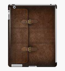 Brown Leather Satchel iPad Case/Skin
