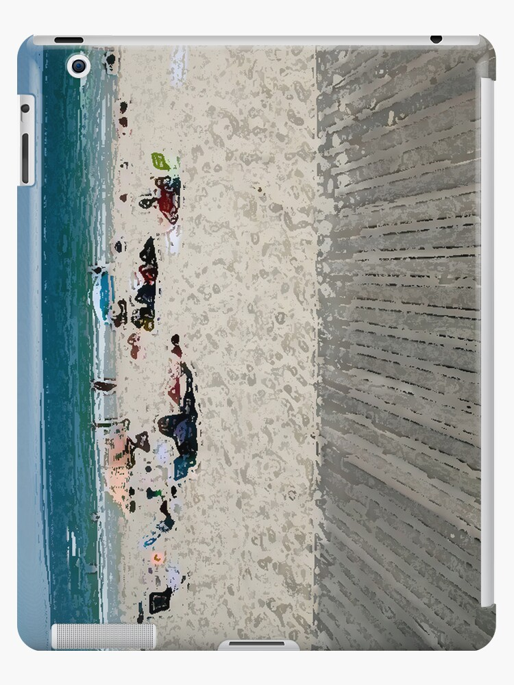 the beach for iPad by Mike van der Hoorn