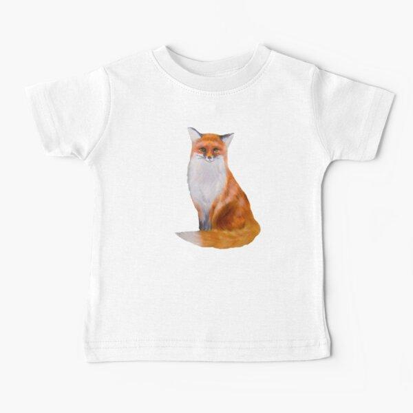 Fox Painting Tatra Cottage Baby T-Shirt