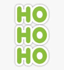 Ho-Ho-Ho Sticker