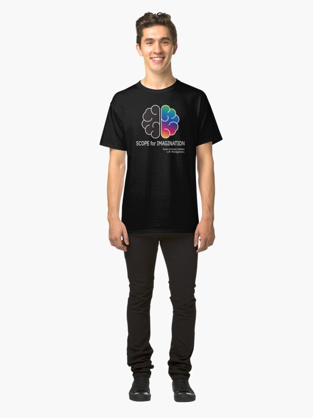 Alternate view of Scope for Imagination. Classic T-Shirt