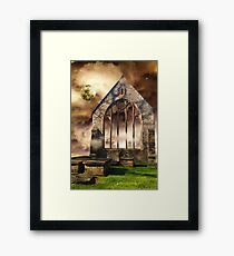Sleepless Rendezvous Framed Print