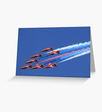 The Red Arrows ~ The Royal Air Force Greeting Card