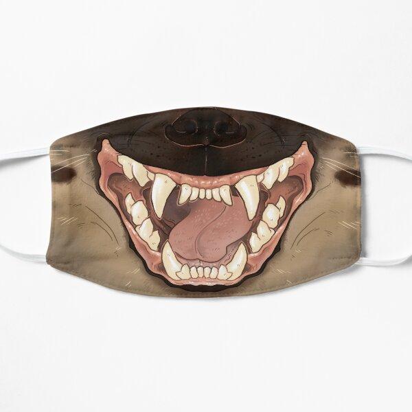 Spotted Hyena Mask Flat Mask