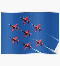 The Red Arrows ~ The Royal Air Force Poster