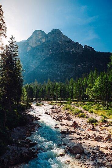 Fluss von Tomáš Hudolin