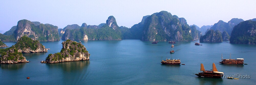 Halong Bay, Vietnam by TravelShots