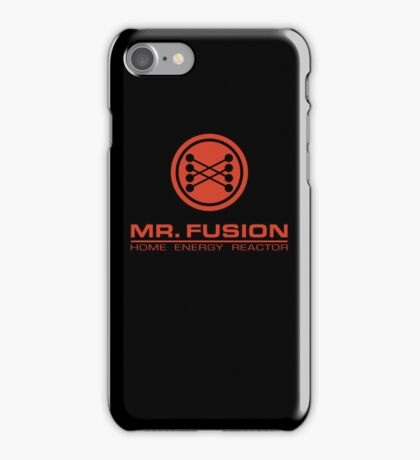 Mr. Fusion iPhone Case/Skin