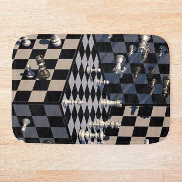 Chess, 3-Dimensional Chess - 3-мерные шахматы Bath Mat