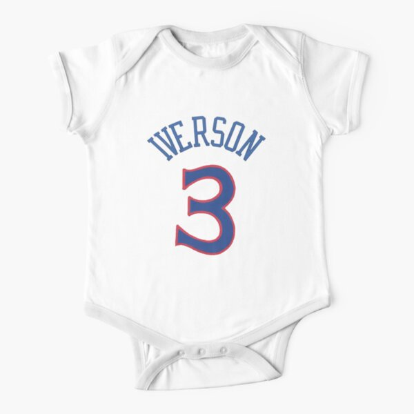 Allen Iverson Short Sleeve Baby One-Piece