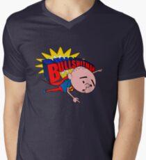 Bullshit Man - Karl Pilkington T Shirt Men's V-Neck T-Shirt