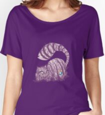Inside wonderland (cheshire cat) Women's Relaxed Fit T-Shirt