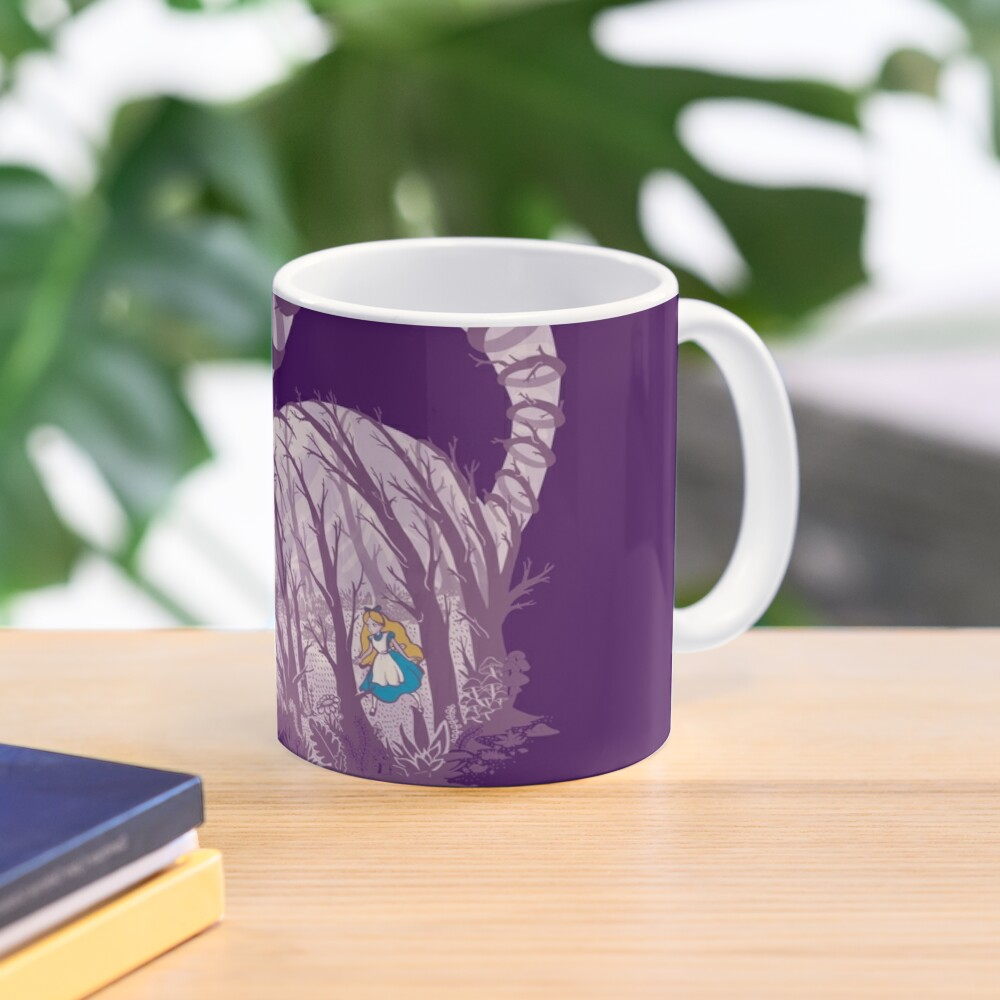 Inside wonderland (cheshire cat) Mug
