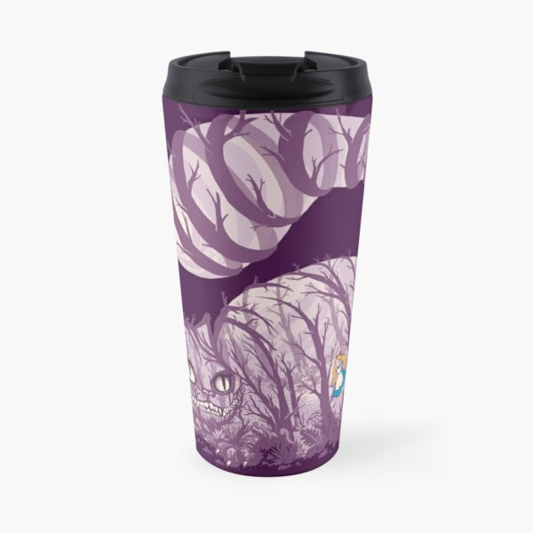 Inside wonderland (cheshire cat) Travel Mug