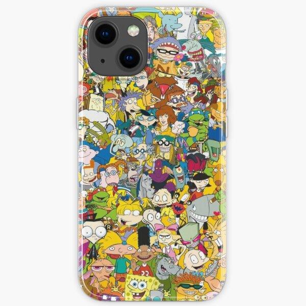 90s Cartoons iPhone Soft Case