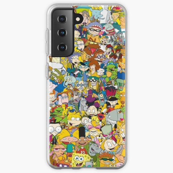 90s Cartoons Samsung Galaxy Soft Case