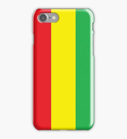 Red Yellow Green iPhone Case/Skin