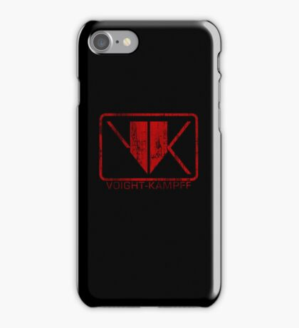 Voight-Kampff Distressed iPhone Case/Skin