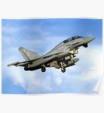 Eurofighter Typhoon FGR4 29 (R) Sqn at RAF Coningsby Poster