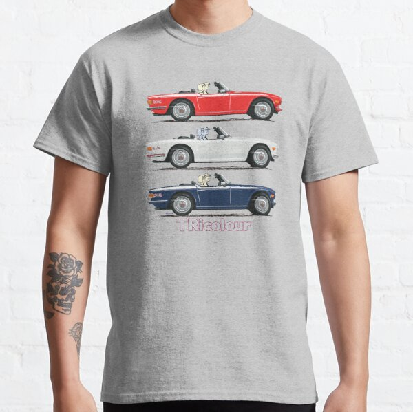TR6 in TRicolour options Classic T-Shirt