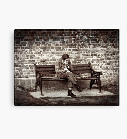 Lost Along the Way Canvas Print