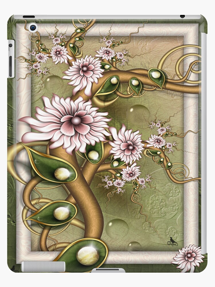 Flowering Delight-IPad cases by coby01
