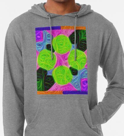 #DeepDream Color Squares Visual Areas 5x5K v1448212784 Lightweight Hoodie