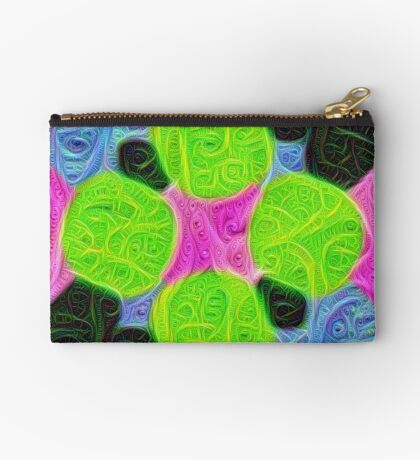 #DeepDream Color Squares Visual Areas 5x5K v1448212784 Zipper Pouch