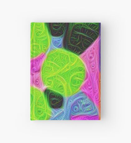 #DeepDream Color Squares Visual Areas 5x5K v1448212784 Hardcover Journal