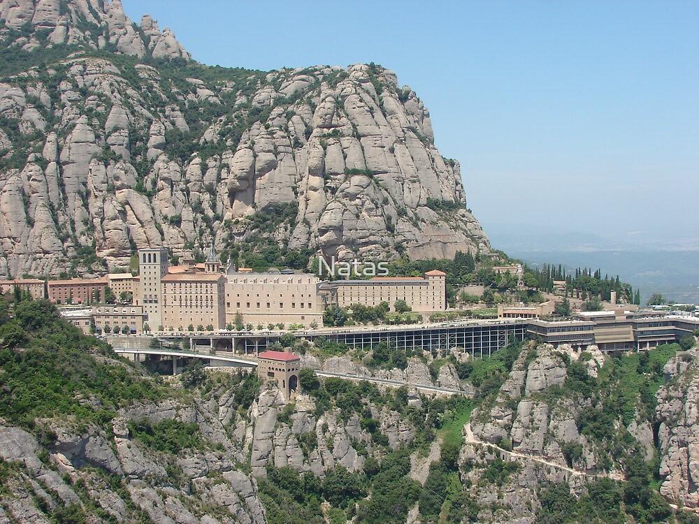 Mountain Montserrat I.- Spain  by Natas