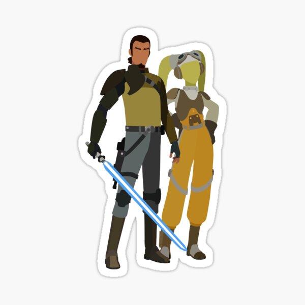 Kanan Jarrus and Hera Syndulla Sticker