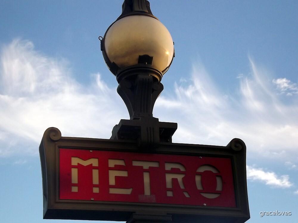 Paris metro by graceloves