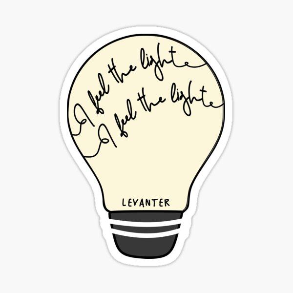 Stray Kids Levanter Lyrics Light Bulb Sticker